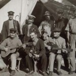 Internee musicians at Rottnest Island Internment Camp, 1915. Courtesy the National Archives of Australia