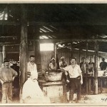 The kitchen, Holsworthy Internment Camp, c.1915. Dubotzki collection, Germany