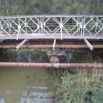 The 1917 bridge built by the Holsworthy internees, 2009. Photograph Stephen Thompson