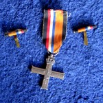 father's silver cross