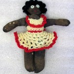 Doll crocheted by Reet Simmul at Bathurst Migrant Camp, 1949. Powerhouse Museum Collection