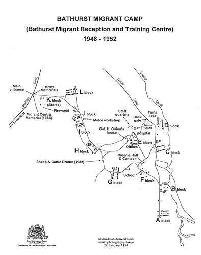 Bathurst Migrant Camp A Place For Everyone Bathurst Migrant Camp