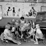 Primary school at Bathurst Migrant Camp 1951. Courtesy National Archives of Australia