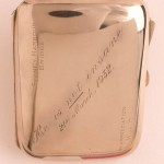 Francis De Groot cigarette case 1932. Courtesy State Library of New South Wales