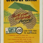 Australian Migration Office Poster, c.1955-1960