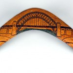 Sydney Harbour Bridge Boomerang 1928. Courtesy Powerhouse Museum