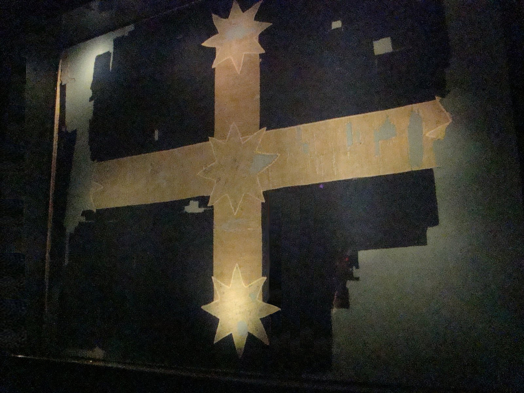 1854 The Eureka Flag Australias Migration History Timeline Nsw