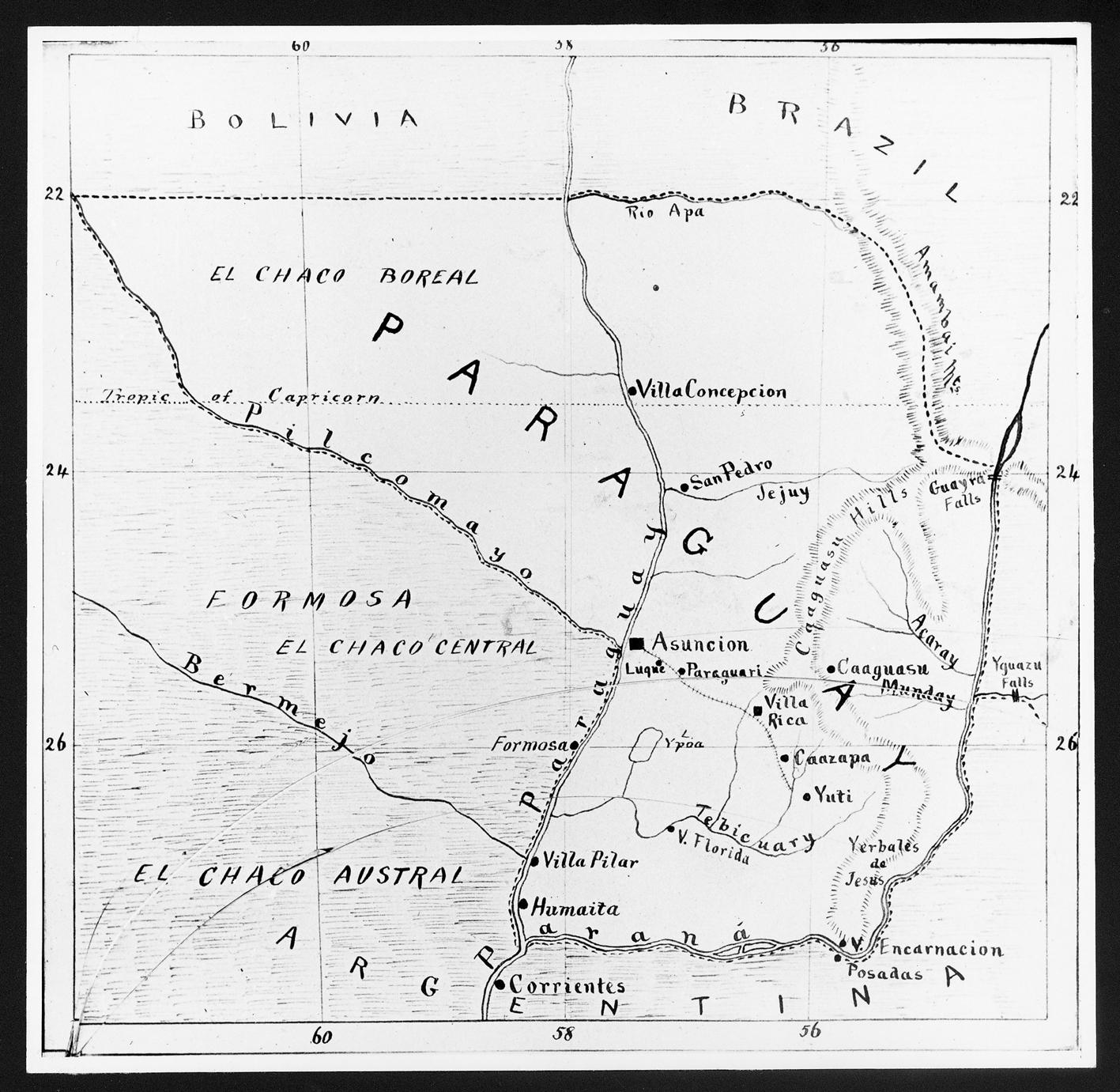 Map Of Australia 1700.1893 The New Australia Colony Collection Australia S Migration