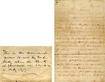 1879 Ned Kelly's Jerilderie Letter     Australia's migration history timeline    NSW Migration Heritage Centre