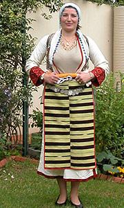 Macedonian Apron